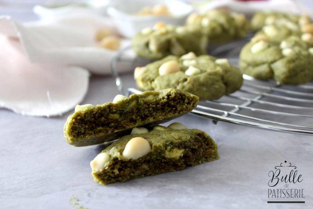Goûter maison : les cookies au thé matcha