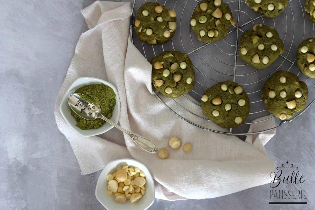 Recette de goûter : cookies au thé matcha